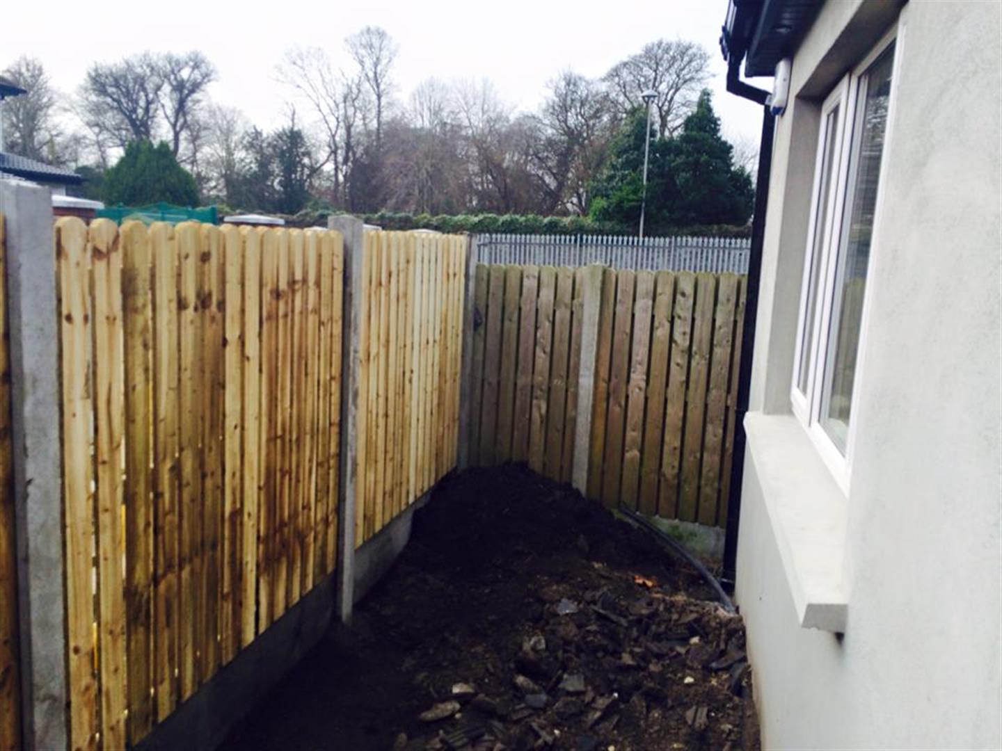 Wooden Fencing Installation in County Cork