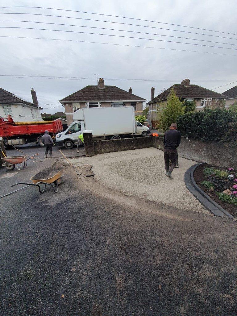 Asphalt Driveway Extension in Cork City