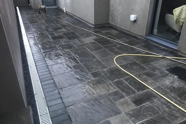 Belvedere Slab Patio Remodeling in Cobh