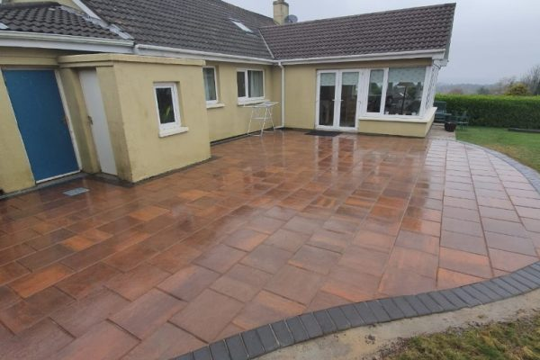 Classic Flagstone Patio in Douglas, Co. Cork