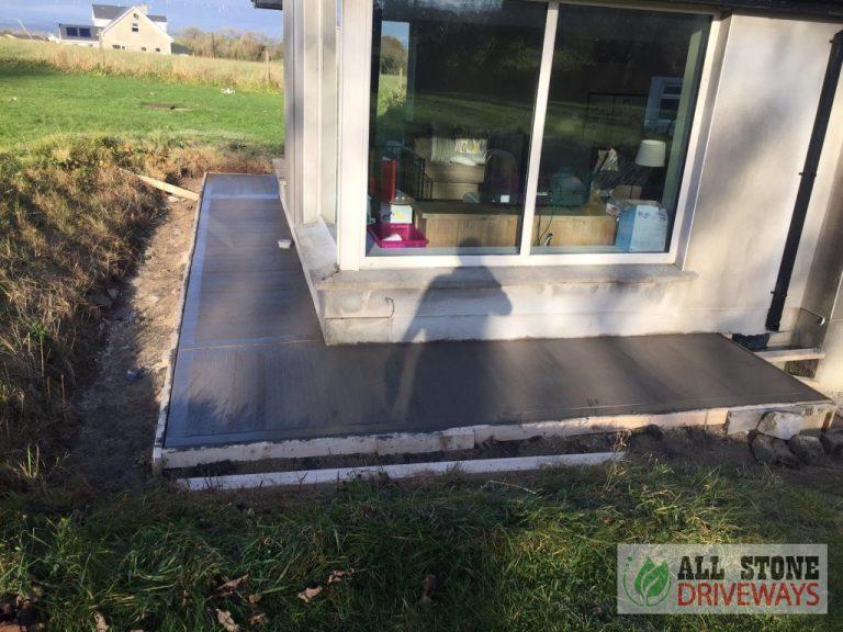 Concrete Footpath in East Cork