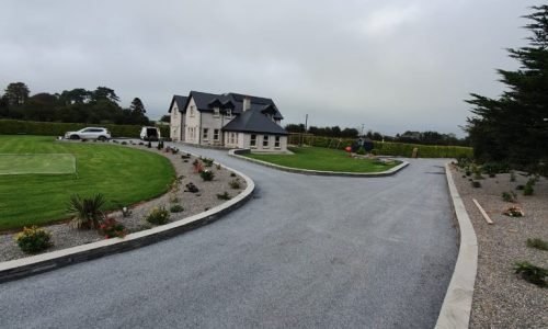 Double Coat Tar and Chip Driveway in Cork