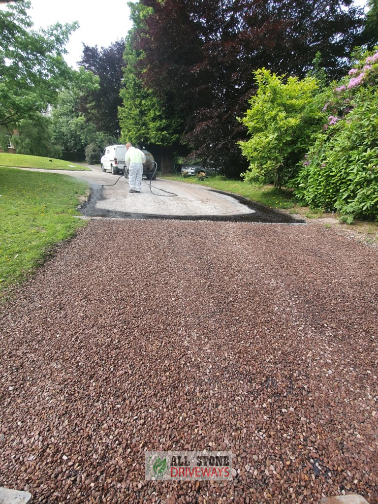 Double Coated Tar and Chip Driveway in Cork City