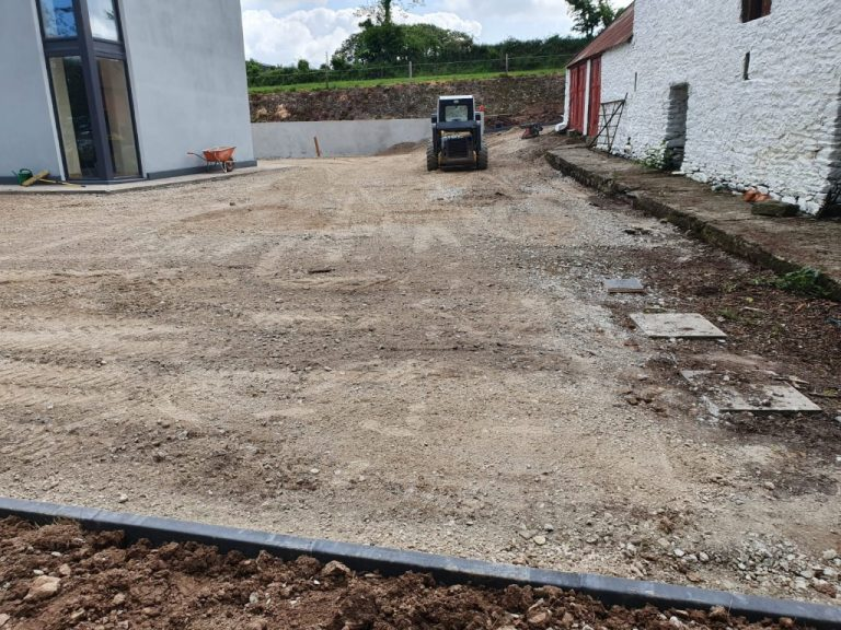 Double Coated Tar and Chip Driveway in Mallow, Co. Cork