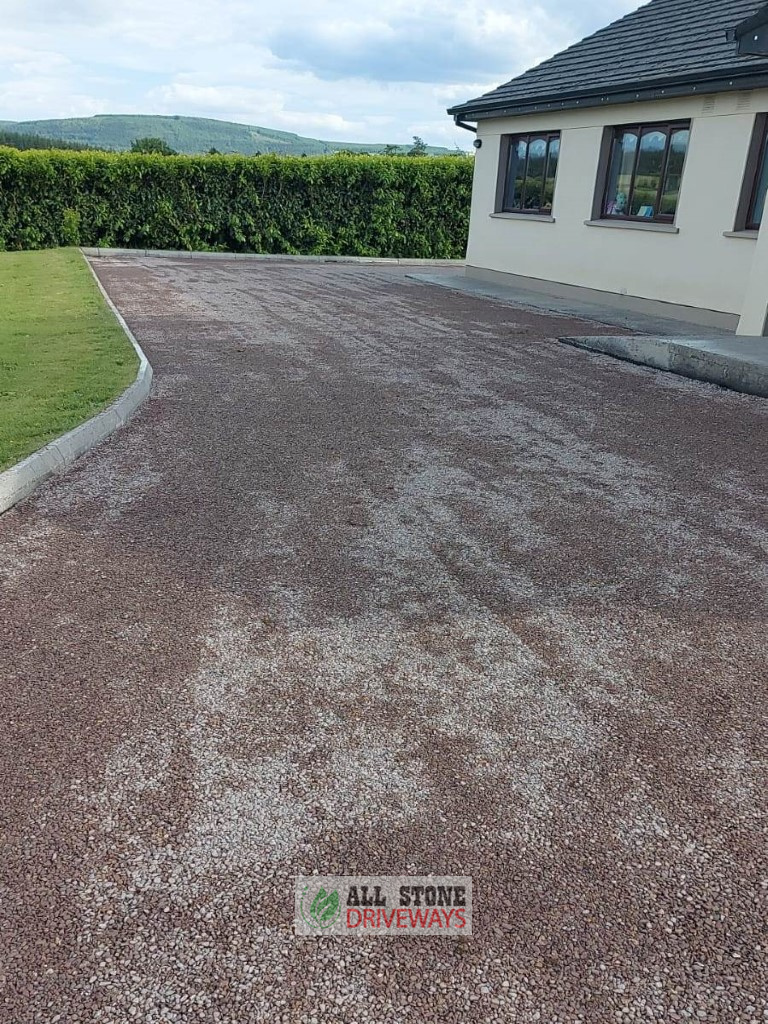 Double Coated Tar and Chip Driveway in Mallow, Cork
