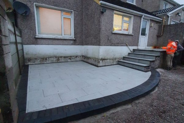 Granite Patio in Cork City