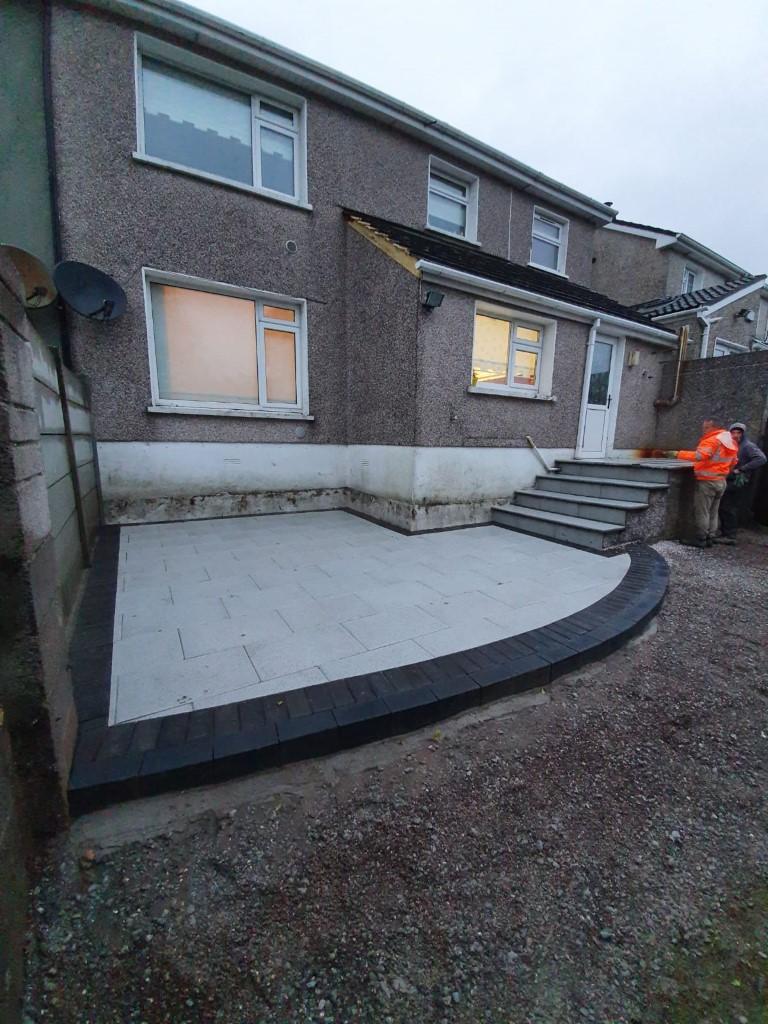 Granite Patio in Cork City