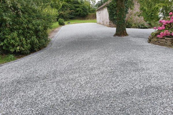New Gravel Driveway in Rathcormac, Co. Cork