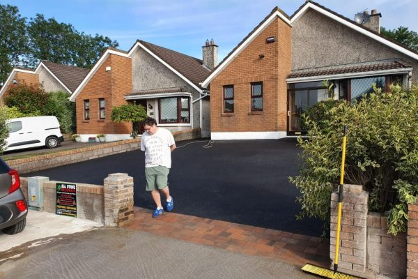 SMA Driveway with Paved Kerbs in Ballincollig, Co. Cork