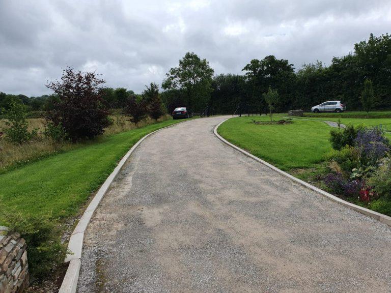 SMA Tarmac Driveway with Limestone Border in Ballyduff, Co. Waterford