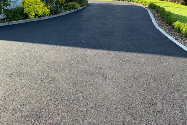 SMA Tarmac Driveway with Limestone Border in Ballyduff, Co. Waterford