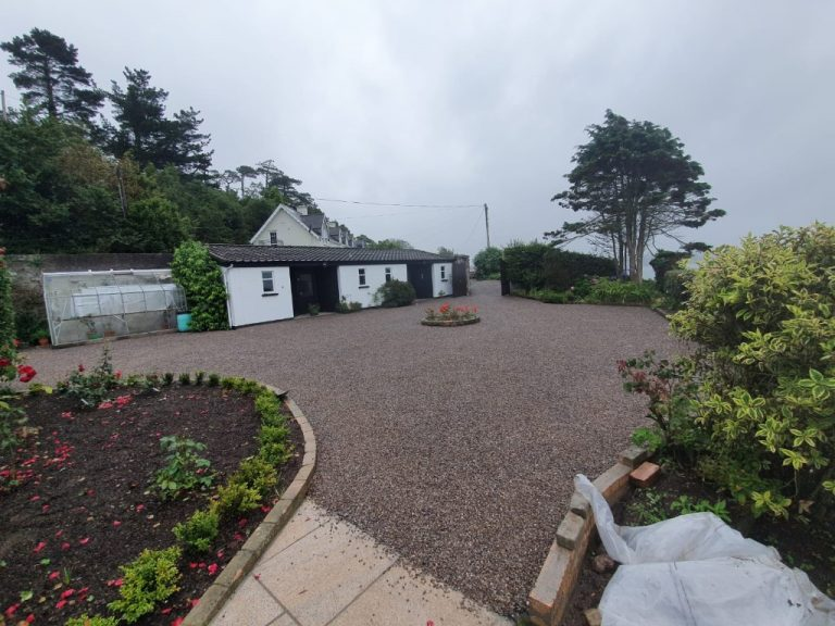 Tar and Chip Driveway Resurfaced in Midleton, Co. Cork