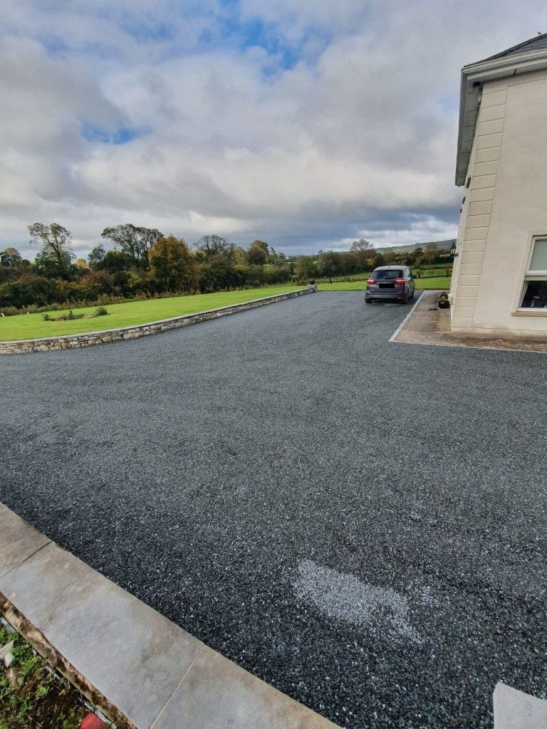 Tar and Chip Driveway in Castlelyons, Co. Cork