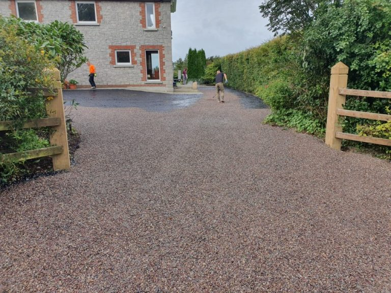 Tar and Chip Driveway in North Cork