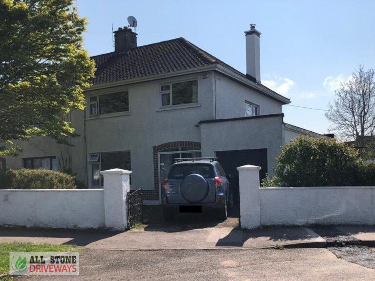 Tarmacadam Driveway with Charcoal Kerbing in Bishopstown, Cork City
