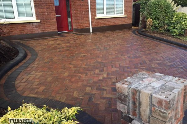 New Block Paving Driveway Installation