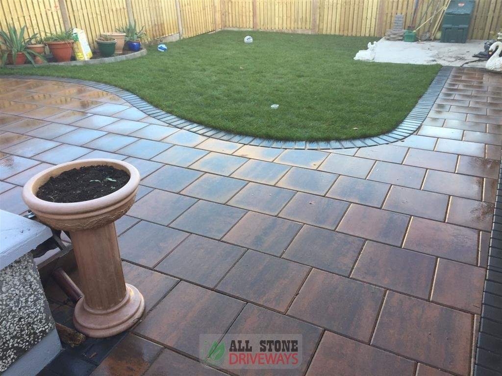 patio Garden Paving