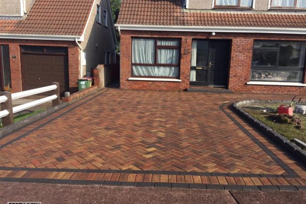 New Driveway Paving Installation