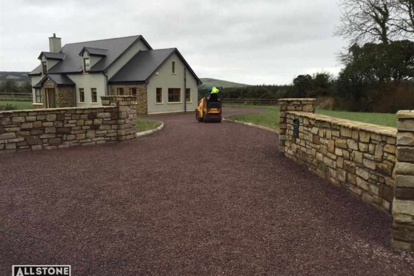 Tar and Chip Driveway Installation