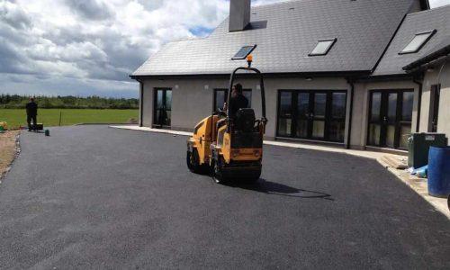 New Asphalt Driveway Installation in County Cork